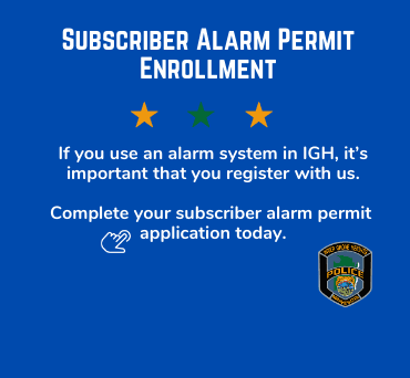 News Flash Subscriber Alarm Permit - False Alarm Enrollment