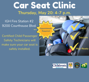 Car Seat Clinic News Flash 370x342