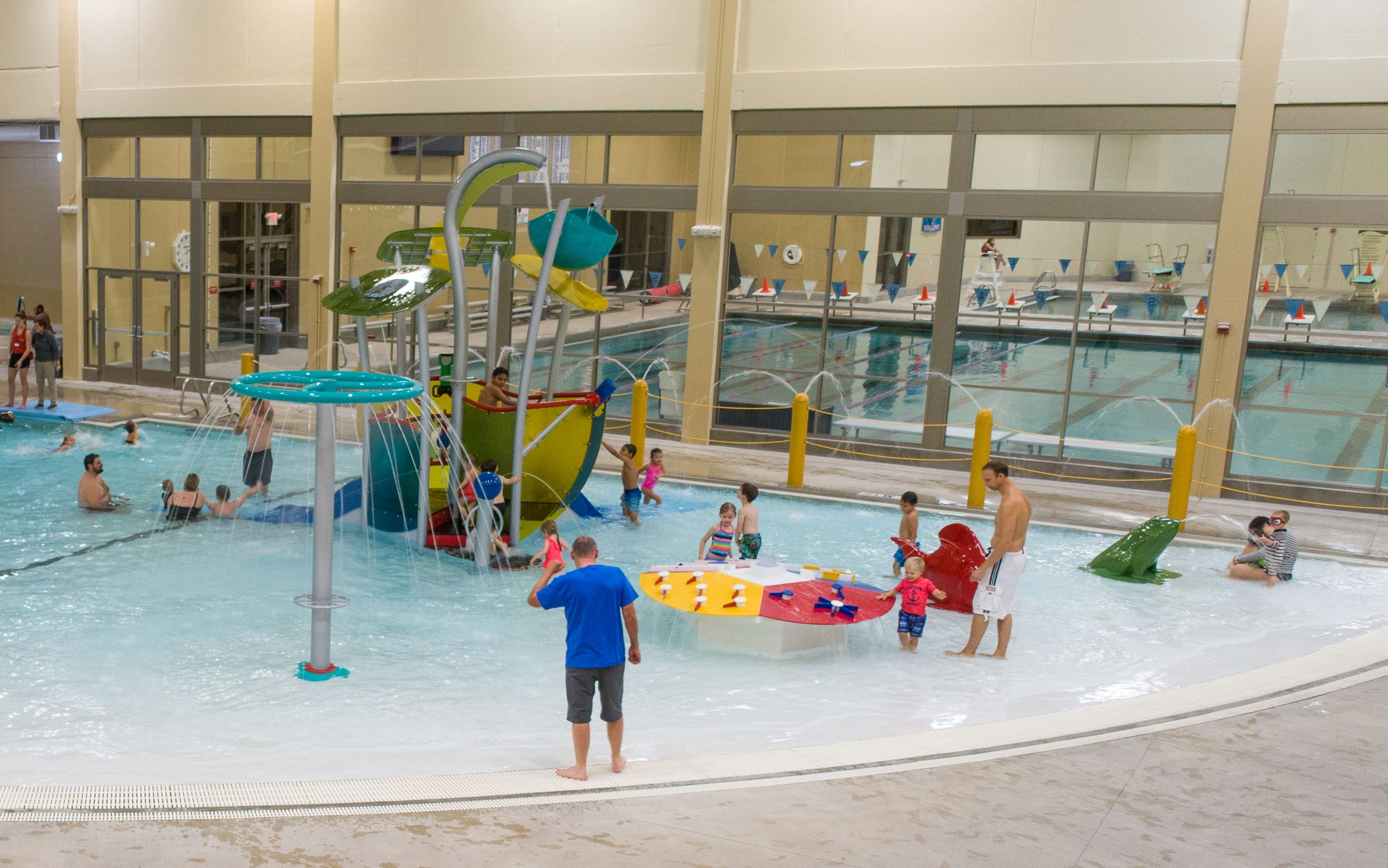Veterans Memorial Community Center Newly remodeled water park