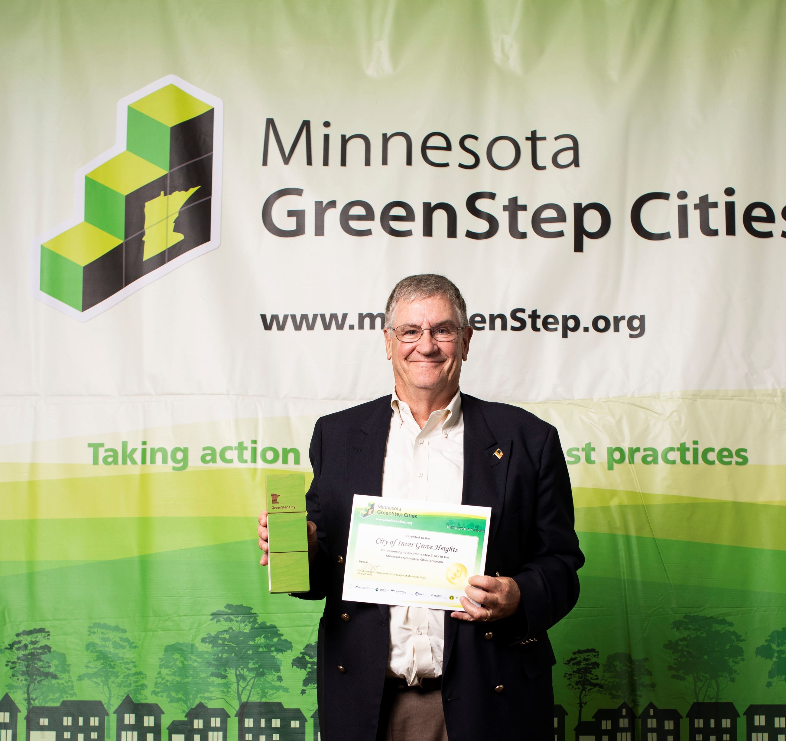 IGH Greenstep Cities Step 3 Award