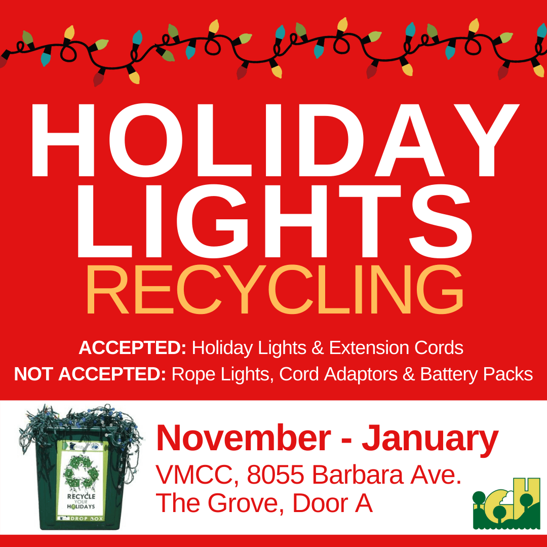 2019 Holiday Lights Recycling