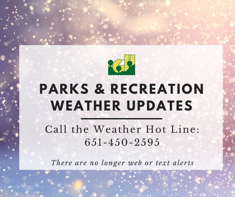 Park and Rec Weather Updates