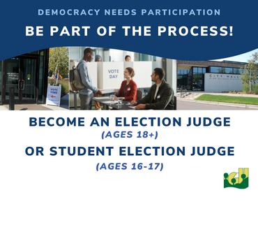 Now Hiring - Election Judges posting 2019-20