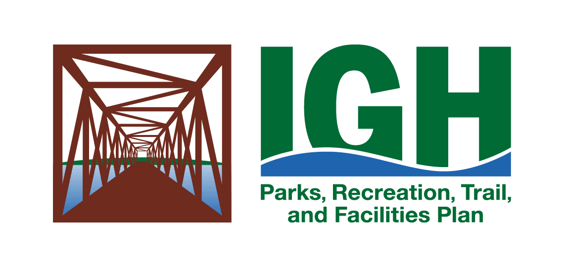 comprehensive parks rec trail and facilities logo