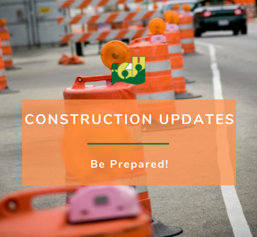 News Flash - Homepage - Construction Updates