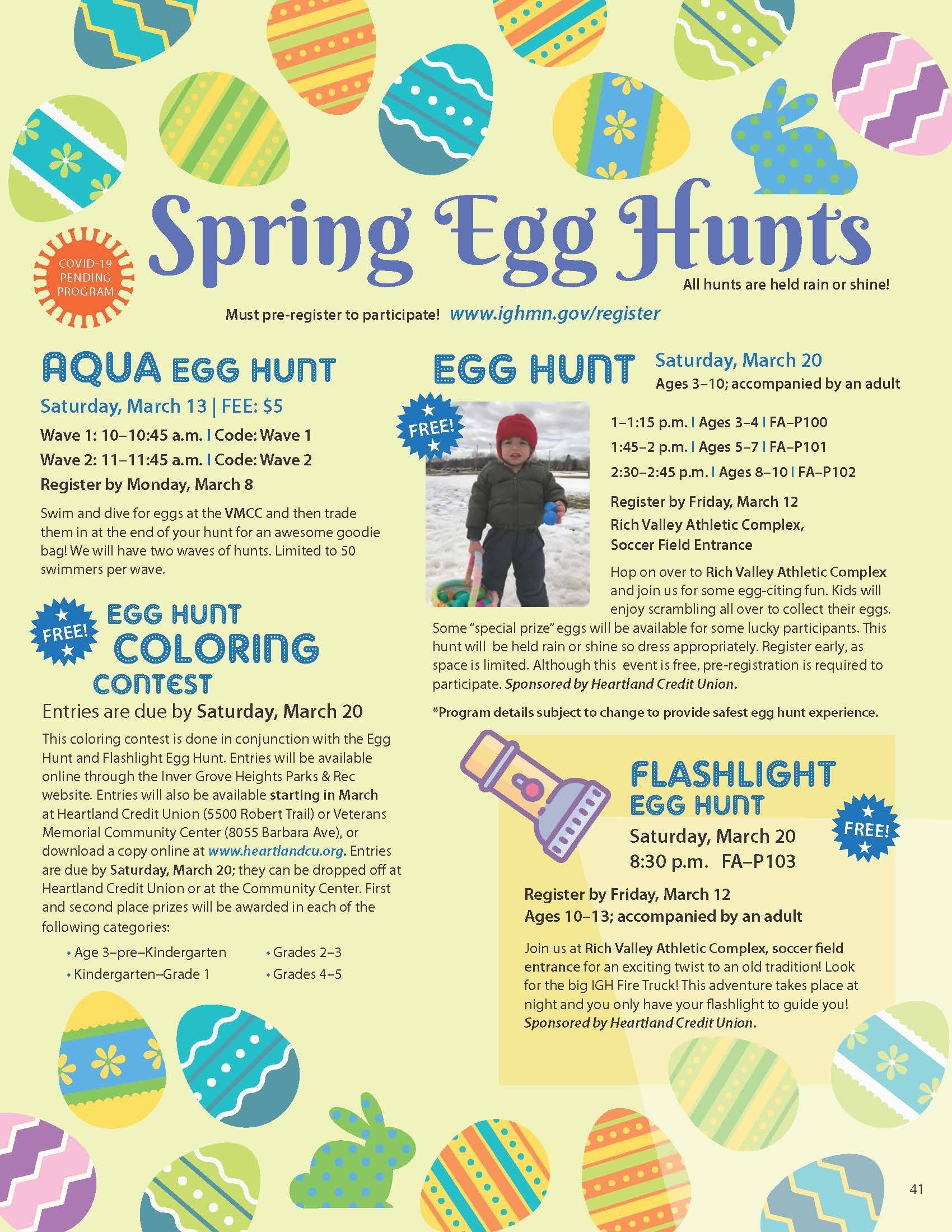IGH-Winter-Spring2021 EGG HUNTS page Opens in new window