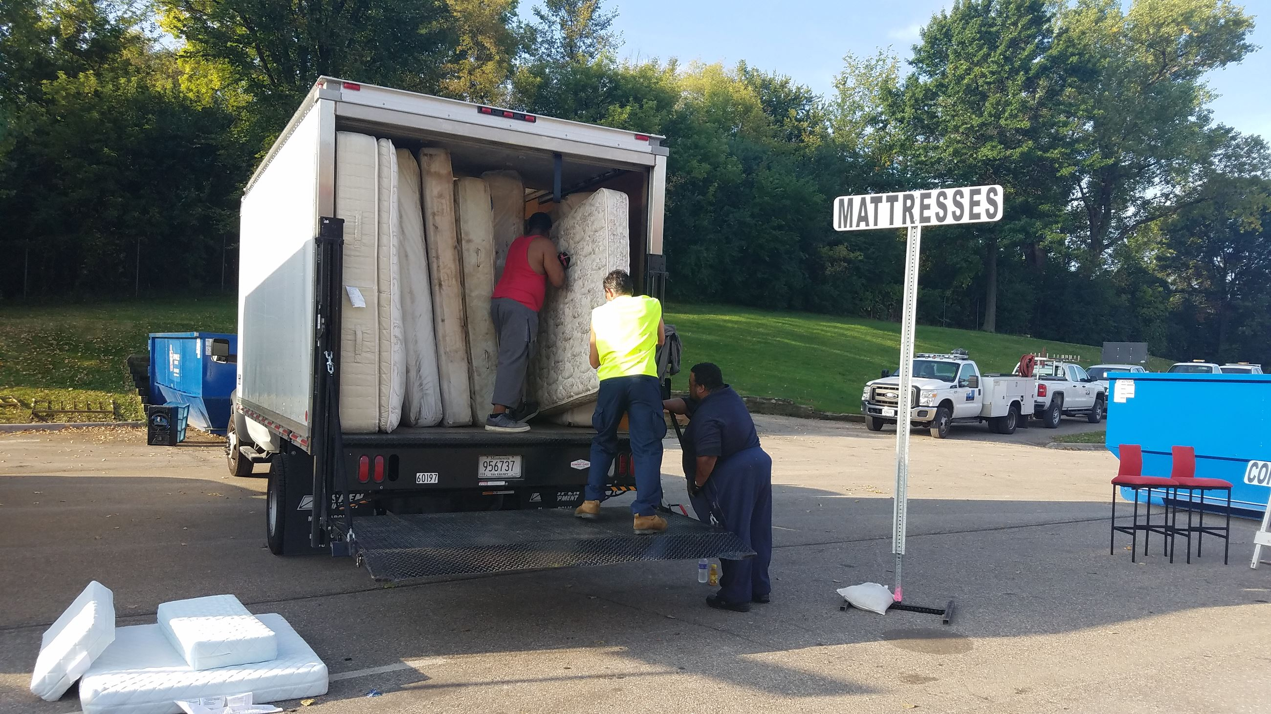 Clean-Up Day Mattress Recycling