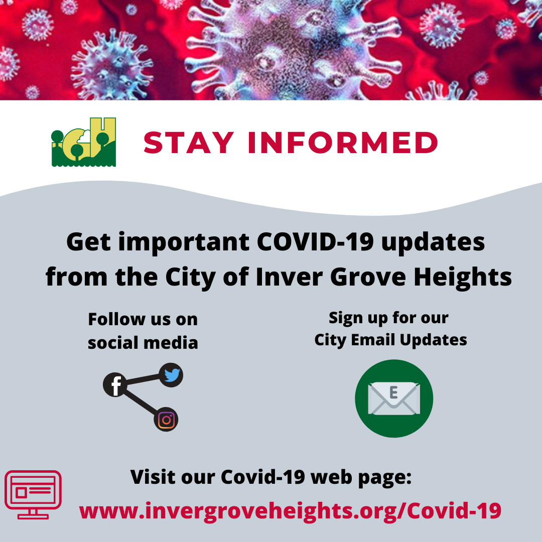 Covid-19 Updates graphic Opens in new window